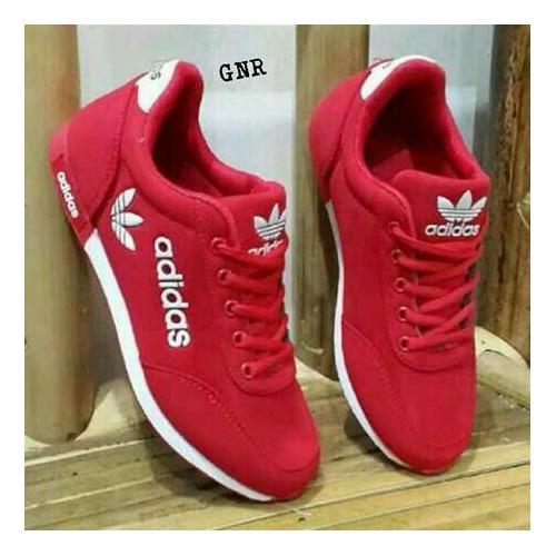 ... yutaka sp 30 coklat. Source · Sepatu Kets Sneakers Wanita - Merah