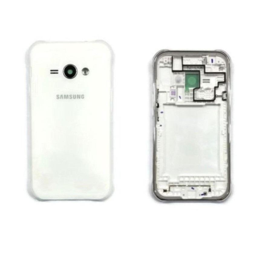 Housing Backdoor Fullset Casing - Back Case Plus Tulang Body - Samsung Galaxy J1 Ace