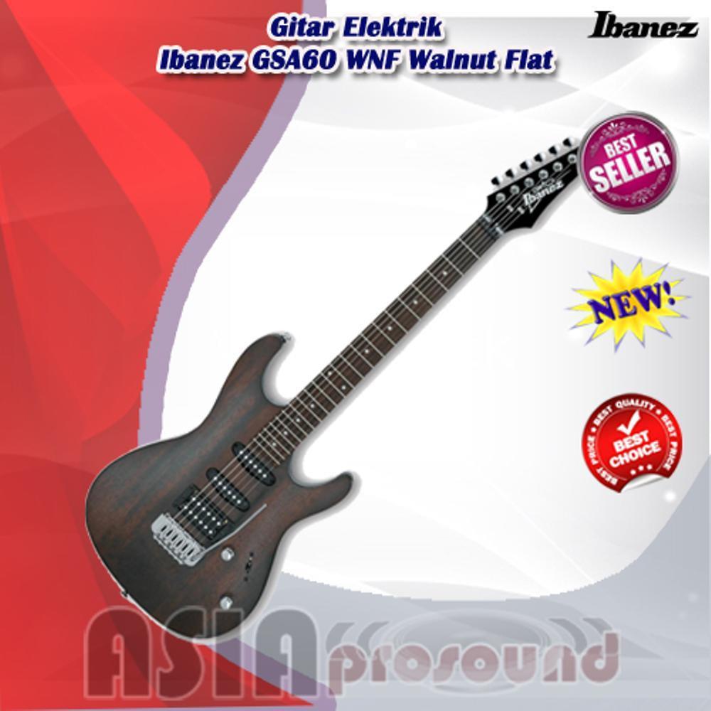 Gitar Elektrik Ibanez GSA60-WNF - GSA 60 - GSA-60 Walnut Flat