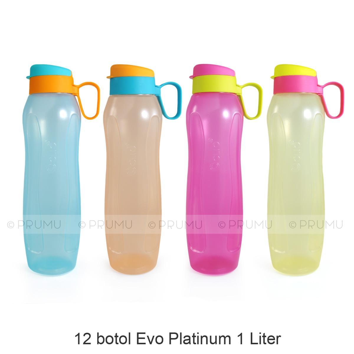 GROSIR Botol Minum 500 ml - Botol Minum Anak - Souvenir Ulang Tahun - Evo Platinum