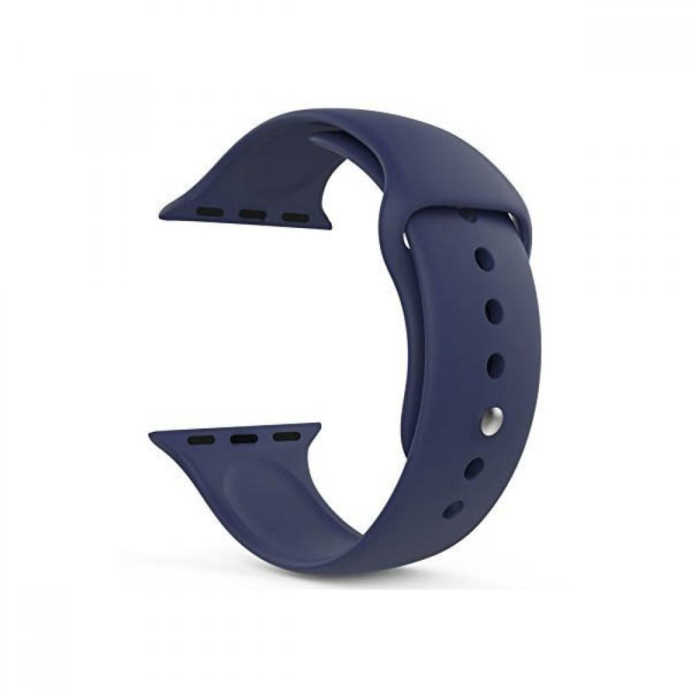 ... Tali Jam iwatch Apple Watch Sport Silicone Rubber 38mm - Navy - 4 ...
