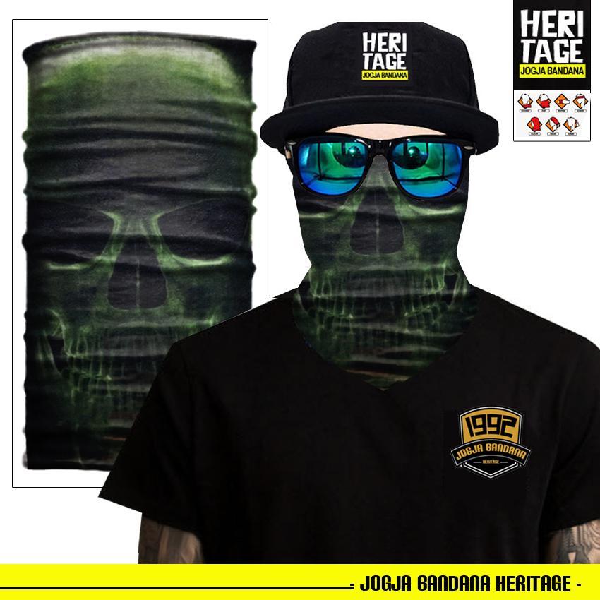 Masker motor (BELI 3 GRATIS 1) buff bandana Scarf Pria Masker Wajah Aksesoris Olahraga