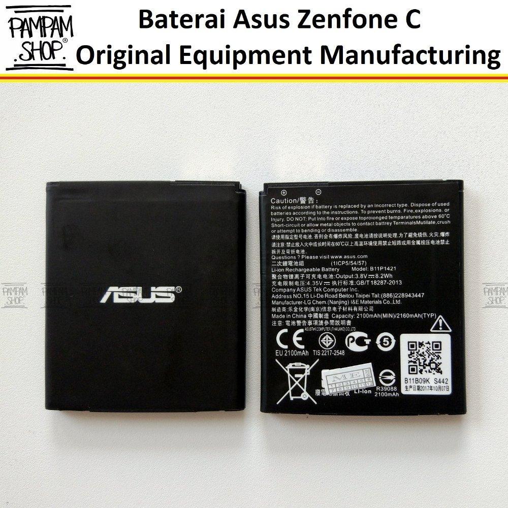 Features Baterai Handphone Asus Zenfone C Zc451cg Z007 B11p1421 4c