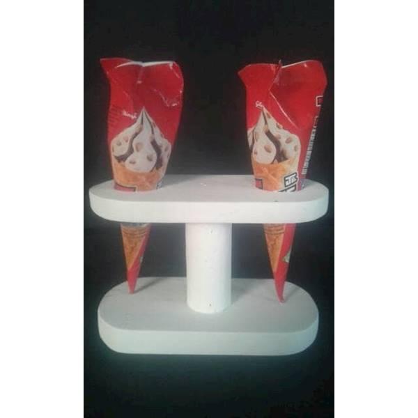 Stand Ice Cream / Ice Cream Cone Holder / Display Ice Cream