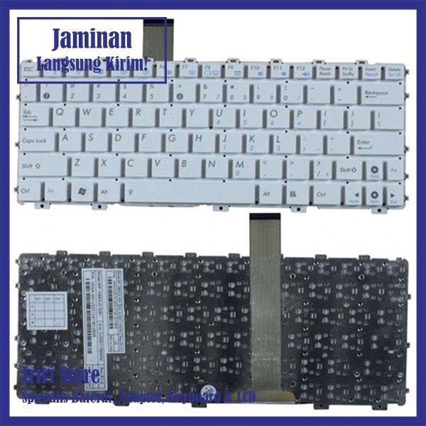 Keyboard Laptop Asus Eee PC 1015 1015B 1015BX 1015CX 1015P 1015T - Putih