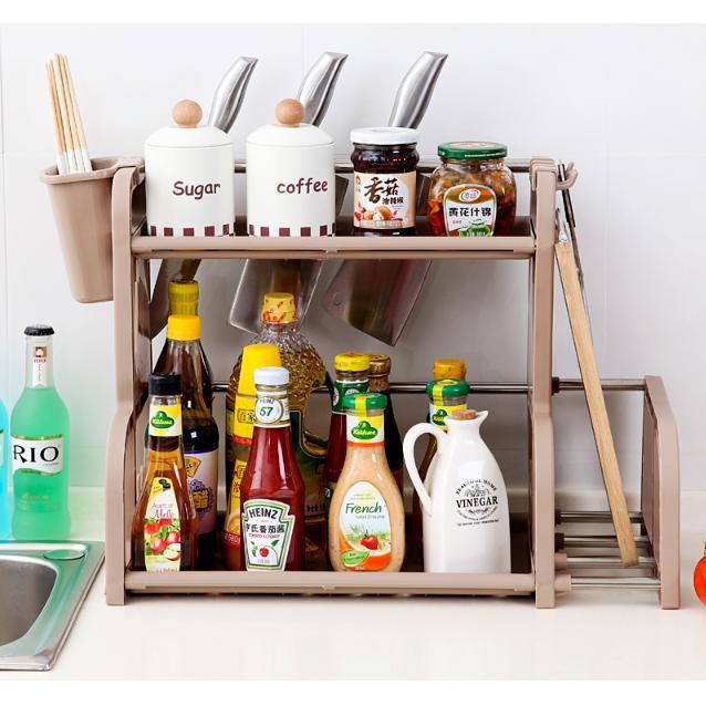 Cek Harga Baru Rak Kitchen Set Minimalis Peralatan Lemari Untuk Di Dapur Barang Serbaguna 068 Coffe