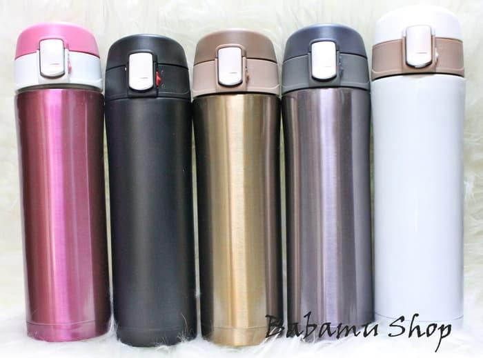 Termos Air Stainless Steel 500 ml Vacuum Cup Travel B89 - Babamu