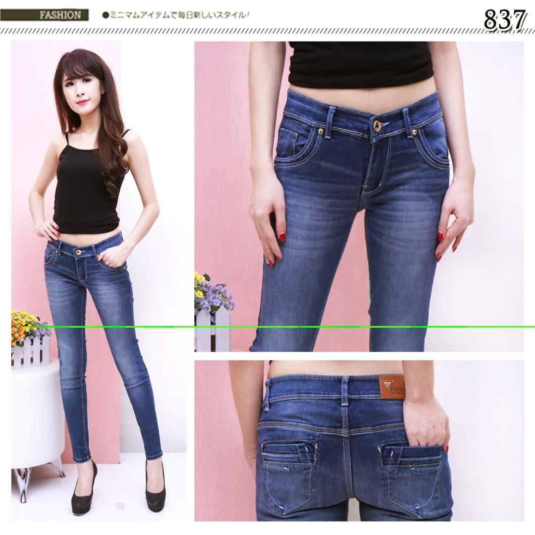 TZ Jeans Venesia Blue Purple Ukuran 27-30 Celana Panjang Soft Jeans Wanita  Elegant Exclusive 2c0ee2b905