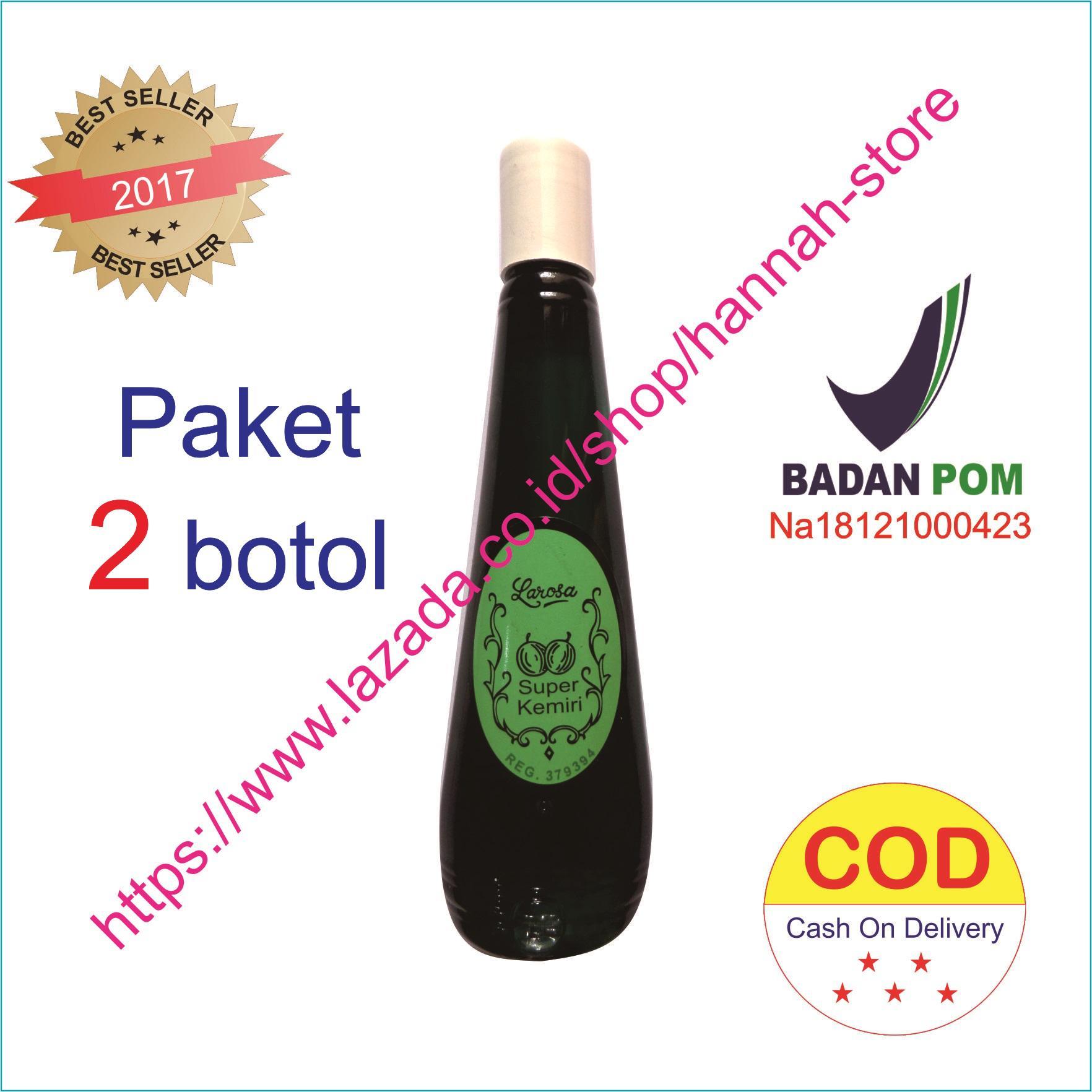 minyak kemiri larosa penumbuh rambut – 2 btl x 100ml