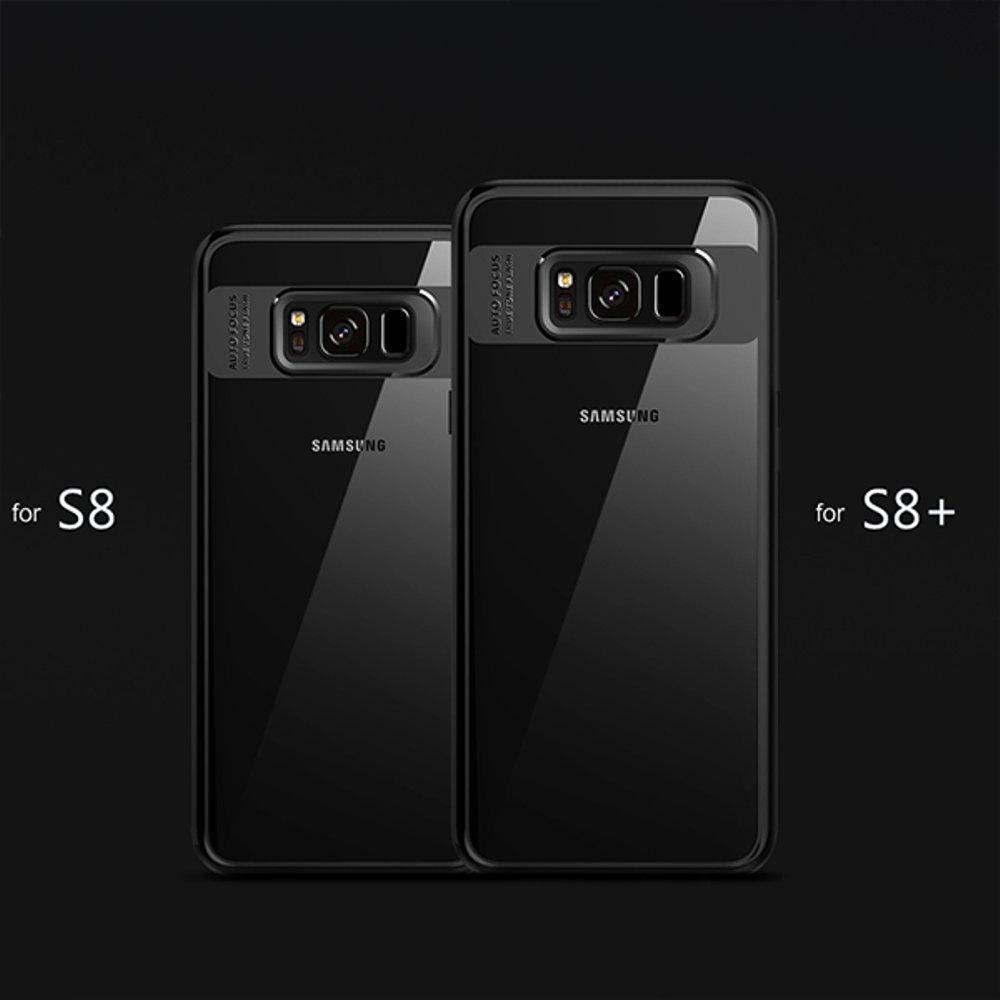 2 Softcase Ultra Hybrid Samsung S8 Case Cover Transparan - 3 .