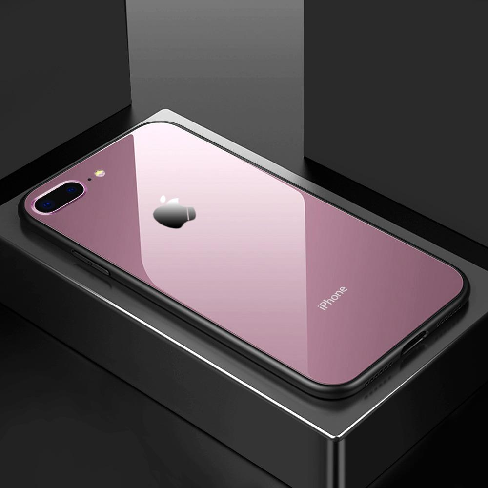 Paket Iphone 6 6s Magic Glass Tempered Glass Acrylic Anticrack Case ... 399d17a9ac