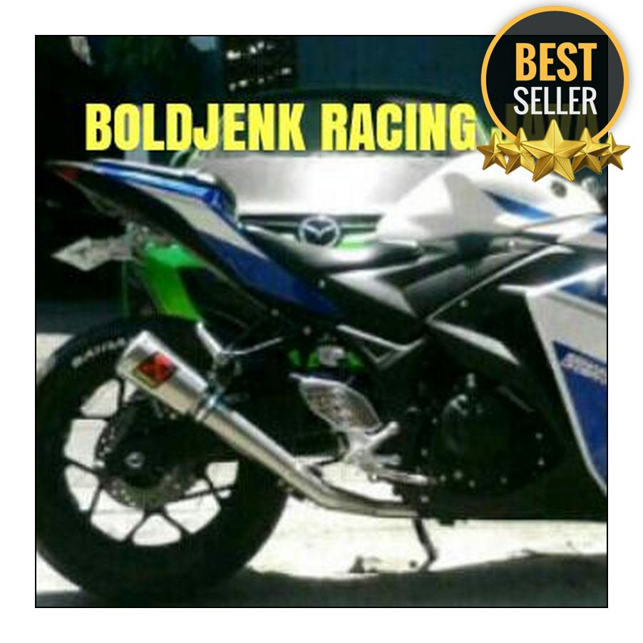 Buy Sell Cheapest Knalpot Ninja250fi Fullsystem Best Quality R9 Full System New Mugello Yamaha R25 Exhaust Mt25 Racing Akrapovic Gp Rossi Karbu Dll