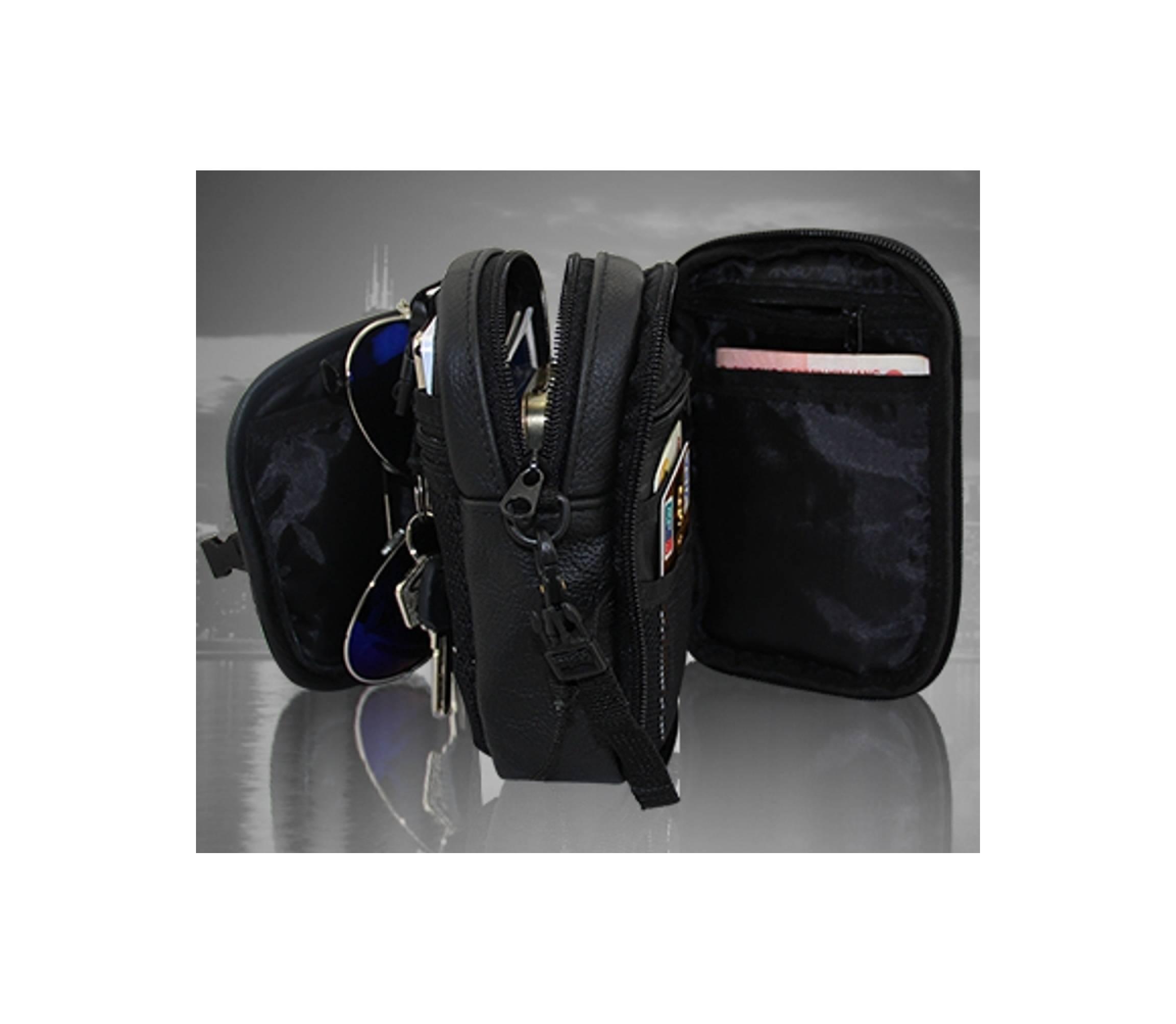 sarung handphone pinggang case cover hp kulit multifungi tas selempang 3