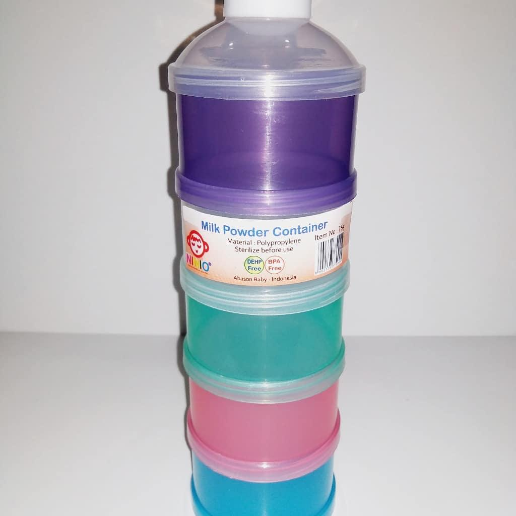 Tempat Susu bubuk travel / Milk powder Container / milk container / dispenser