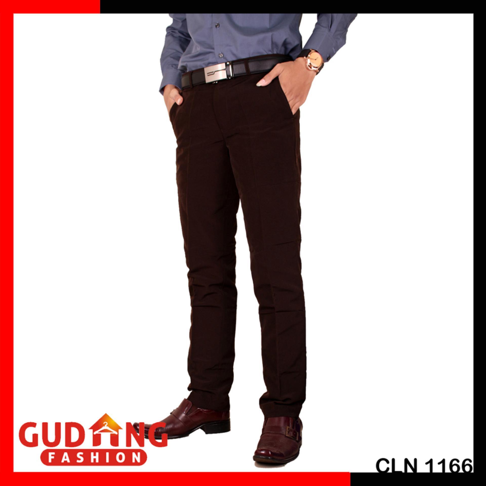 Gudang Fashion - Celana Panjang Formal Slim Fit Pria Kantoran