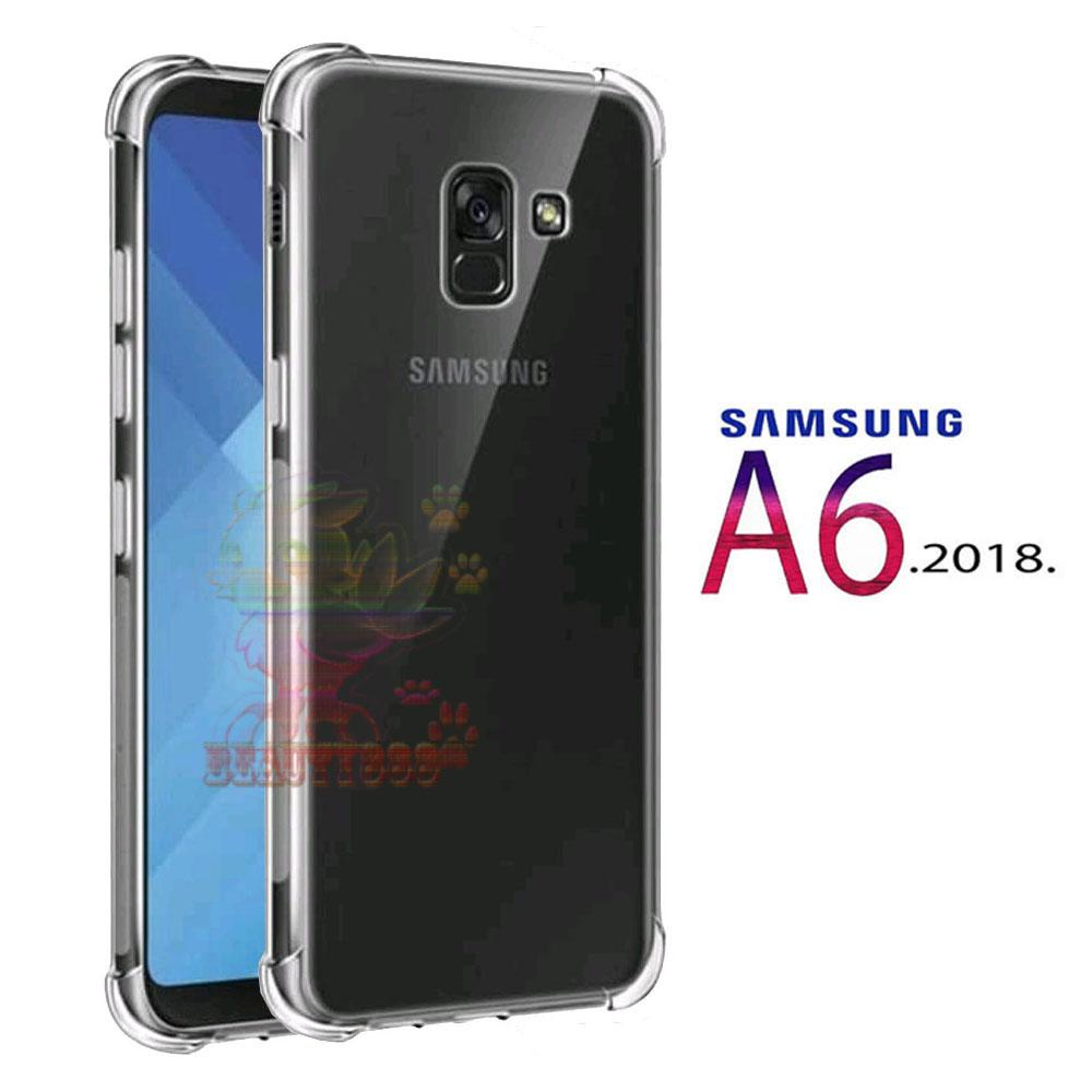 Case Anti Shock Crack For Samsung Galaxy A5 2017 Putih Fuze J5 Prime A6 2018 Ultrathin Luxury Softcase Jamur Air 03mm