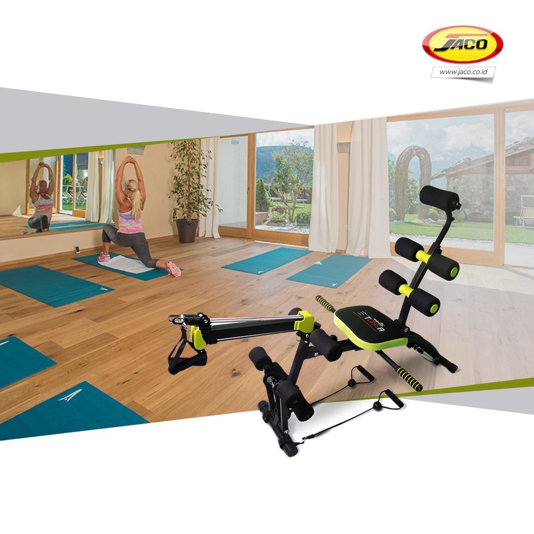 Diskon Produk Jaco Alat Fitness Alat Sit Up Multifungsi Multi Toner Sport