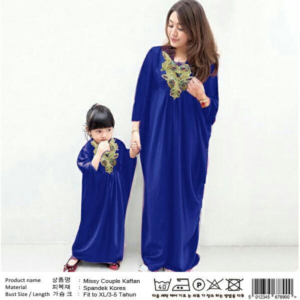 FJCO CP MISSY KAFTAN KIDS / Kaftan ibu dan anak / Baju couple mom and kids / Baju pasangan ibu dan anak
