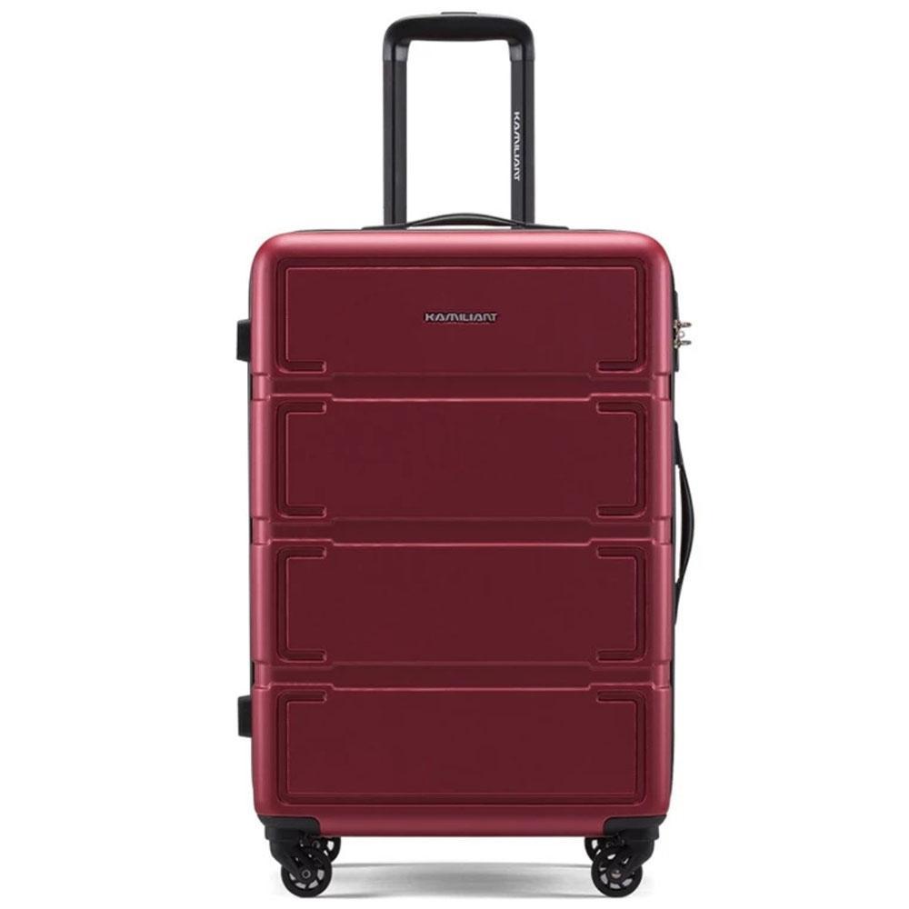 ... Koper Polo LOVE Hardcase Luggage 20 Inchi 303-20 Merah Waterproof - 4 ...