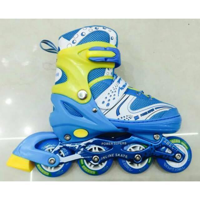Fitur Sepatu Roda Fullset Dekker Inline Skate Bisa Set Model Bajaj ... dae4a8706a