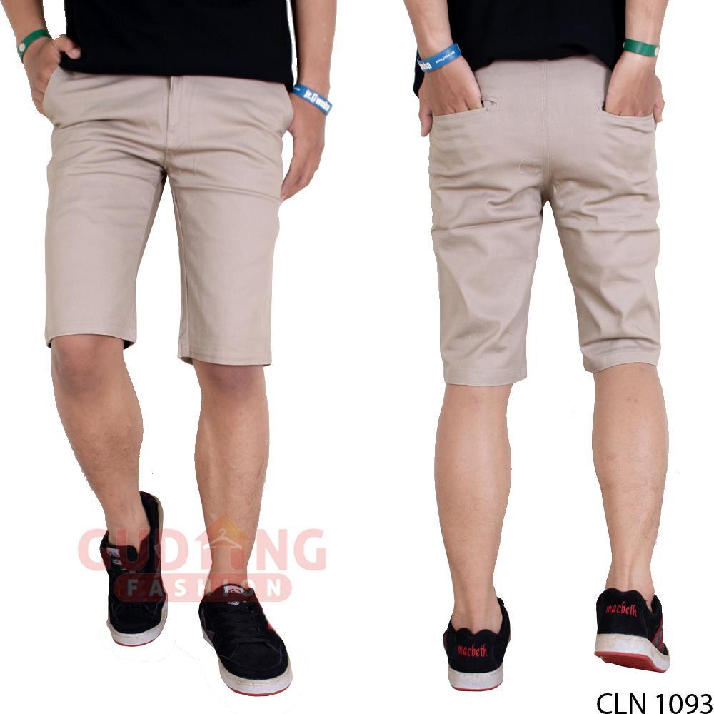 Gudang Fashion - Celana Pendek Chino Terbaru Pria / Tersedia Warna Berbeda - 4