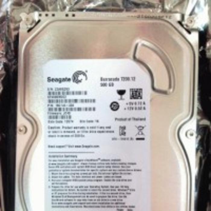 ORIGINAL - Jual HDD  Harddisc  Harddisk 500GB Seagate SATA