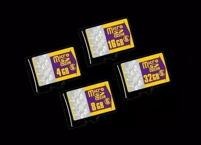 Detail Gambar Memori micro sd v-gen memory card 4gb class 6 vgen c6 original