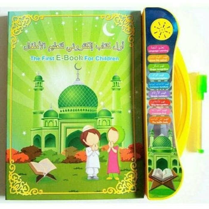 playpad ebook muslim 3 in 1 apple quran tablet version mainan edukasi anak e-book ebook muslim islam 3 bahasa  mainan anak edukasi ipad bahasa inggris arab chinese + free 3 baterai