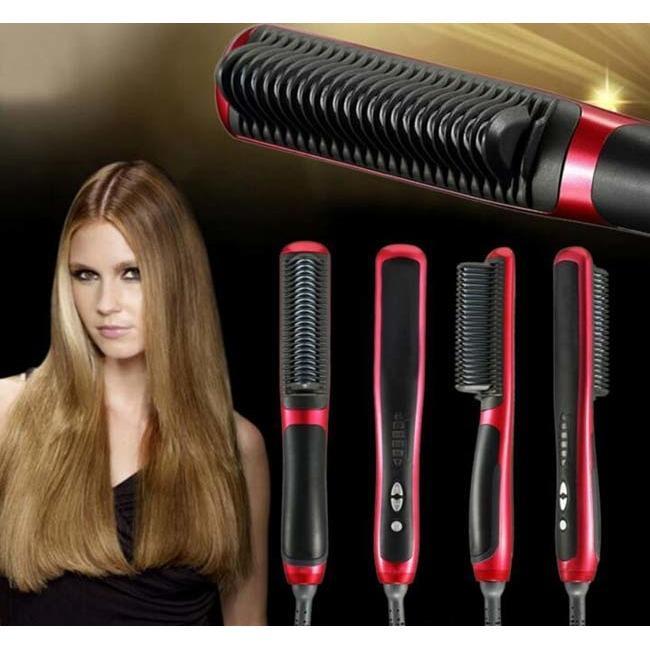Harga Catok Sisir Pelurus Rambut New Fast Hair Straightener Asl 908 Yang Bagus