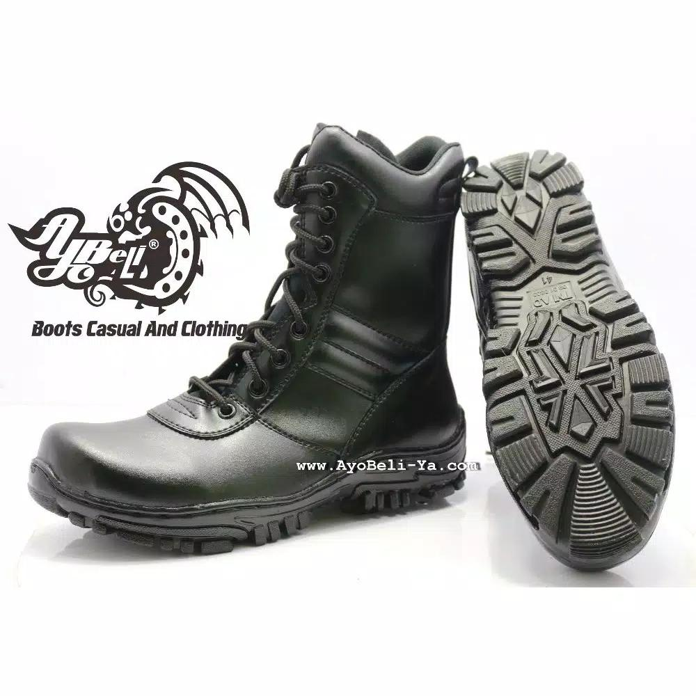 Sepatu Pdl Asli Sus Polwan Sepatu Formal Wanita Sepatu Safety ... 47ab48650b