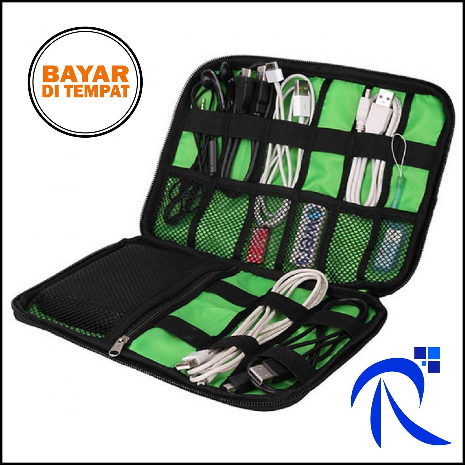 Rimas BUBM Gadget Organizer Bag Portable Case - DIS-L (OEM) - Black
