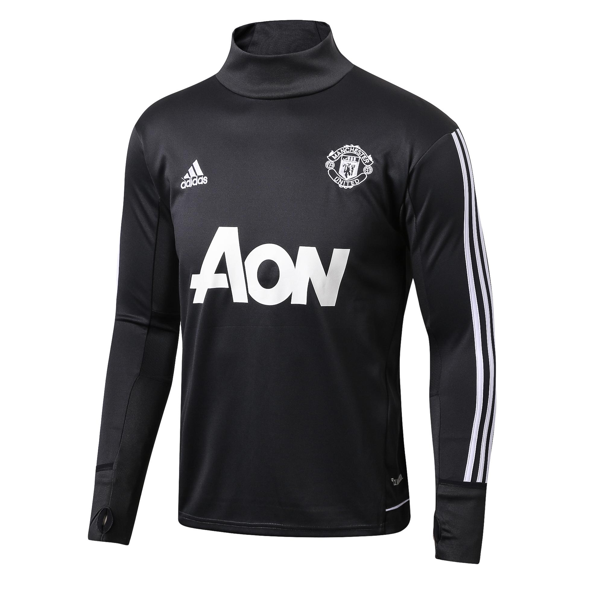 Promo Top Quality Manchester Unitedfc Long Sleeve Home Jersey T Shirt2017 2018 Tiongkok