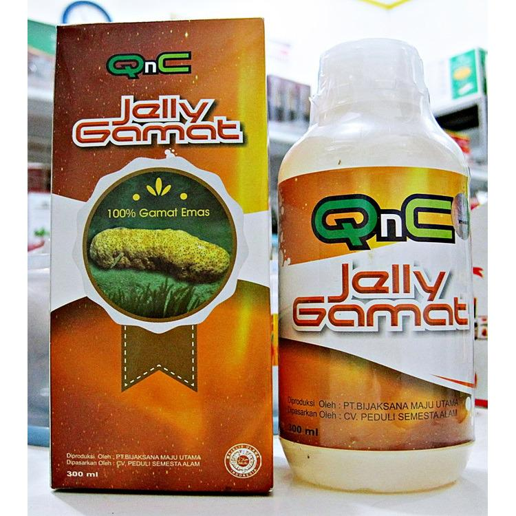Jelly Gamat Qnc Original 300Ml Terbaru