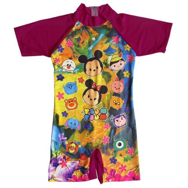 Harga Hemat Baju Renang Diving Anak Karakter Brdp K041Tk