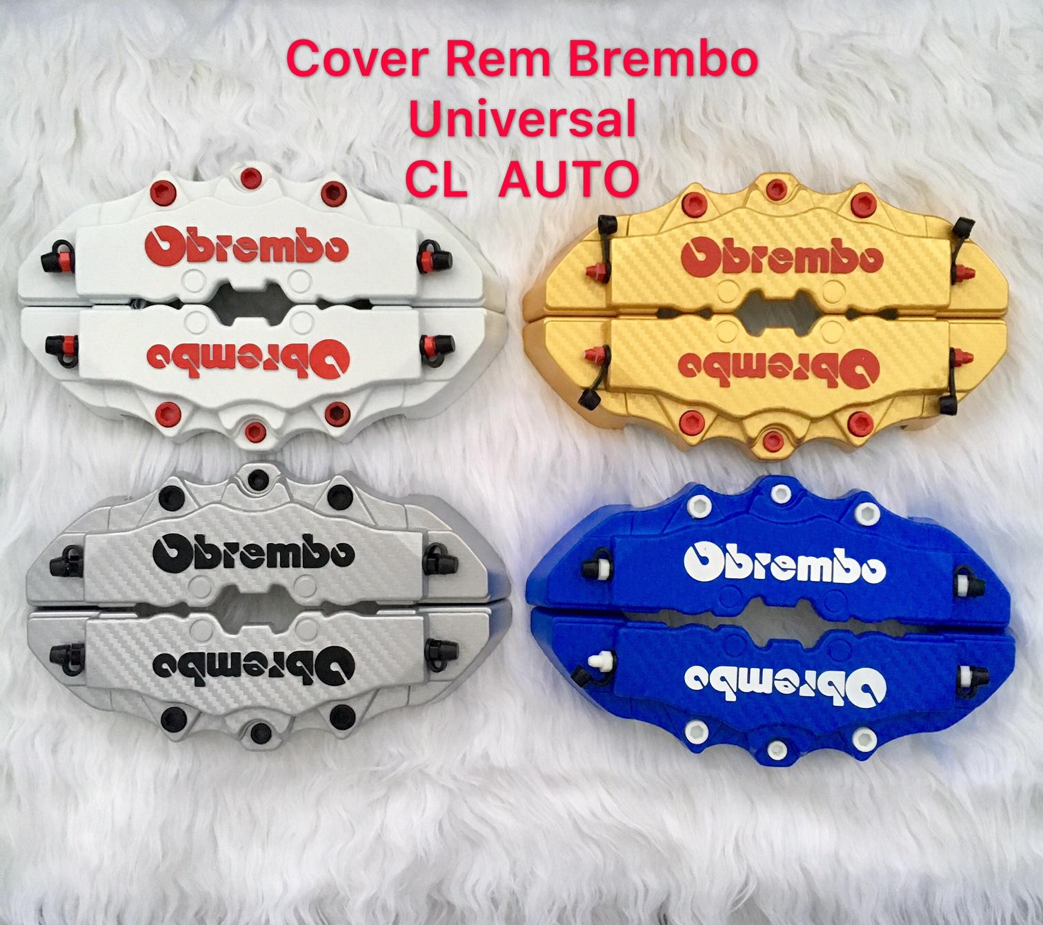 ... Jual OTOmobil Brake Disc Cover Brembo Chrome Emboss Timbul Pelindung Source Cover Rem brembo Cover