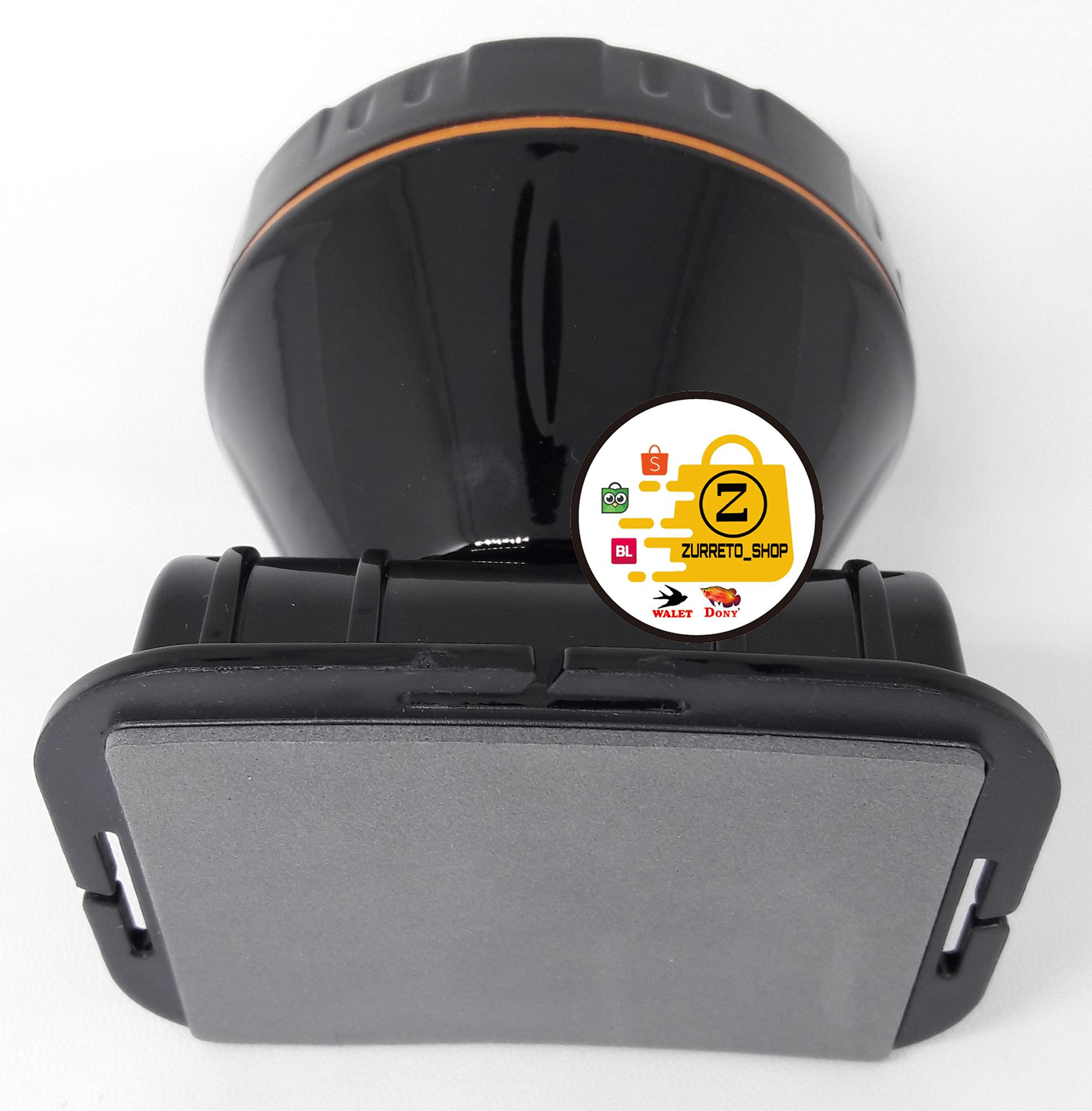 Promo Spesial Senter Kepala Dony Kl 169 Led Kuning Di Online Shop Hitam Manis Anti Gores Cas 8 W 4