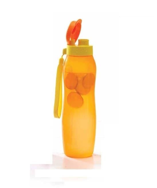 New Eco Bottle 1L 1 L Botol Minum Orange Tupperware