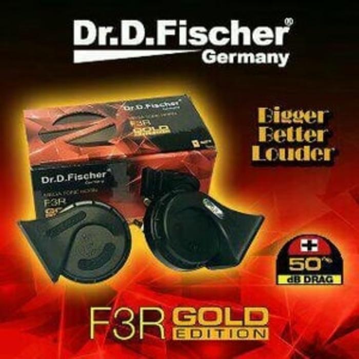 Detail Gambar klakson keong DR. D. FISHCHER made in germany Terbaru