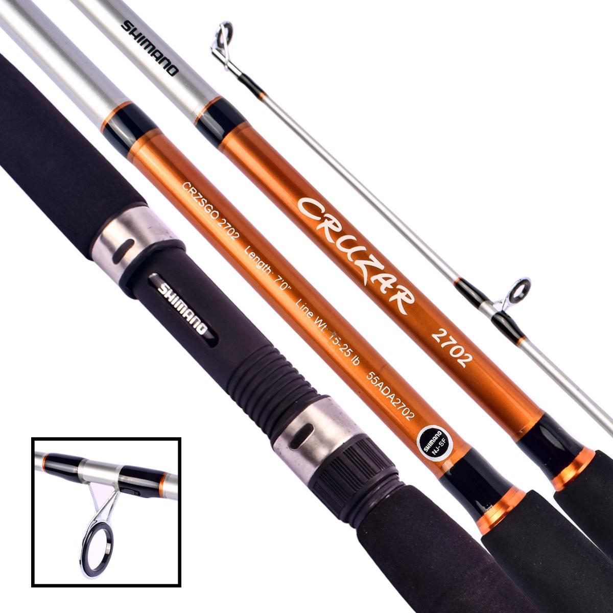 Joran Pancing SHIMANO CRUZAR SG 2702 Orange Panjang 210cm