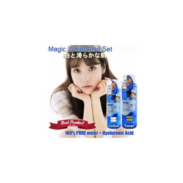 Magic White Acid Water Set (100% Pure Water + HYALURONIC ACID) Whitening In