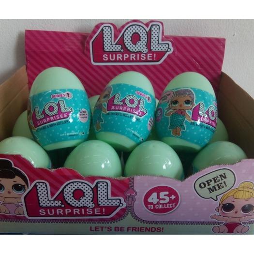 LOL surprise egg hijau