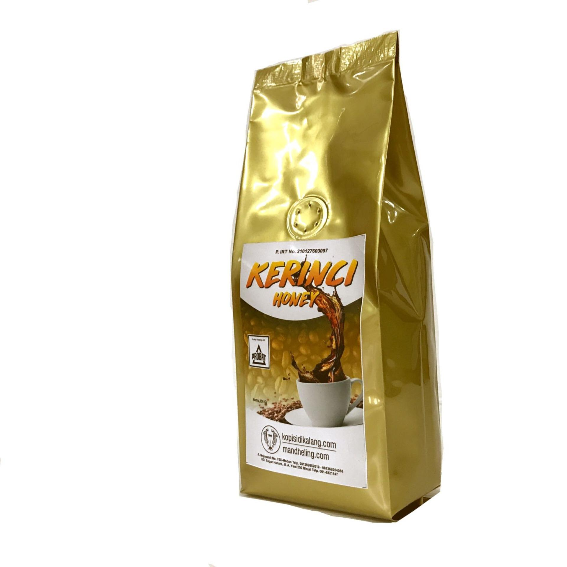 Kopi Kerinci Black Honey Madu 250 gr kasar arabika