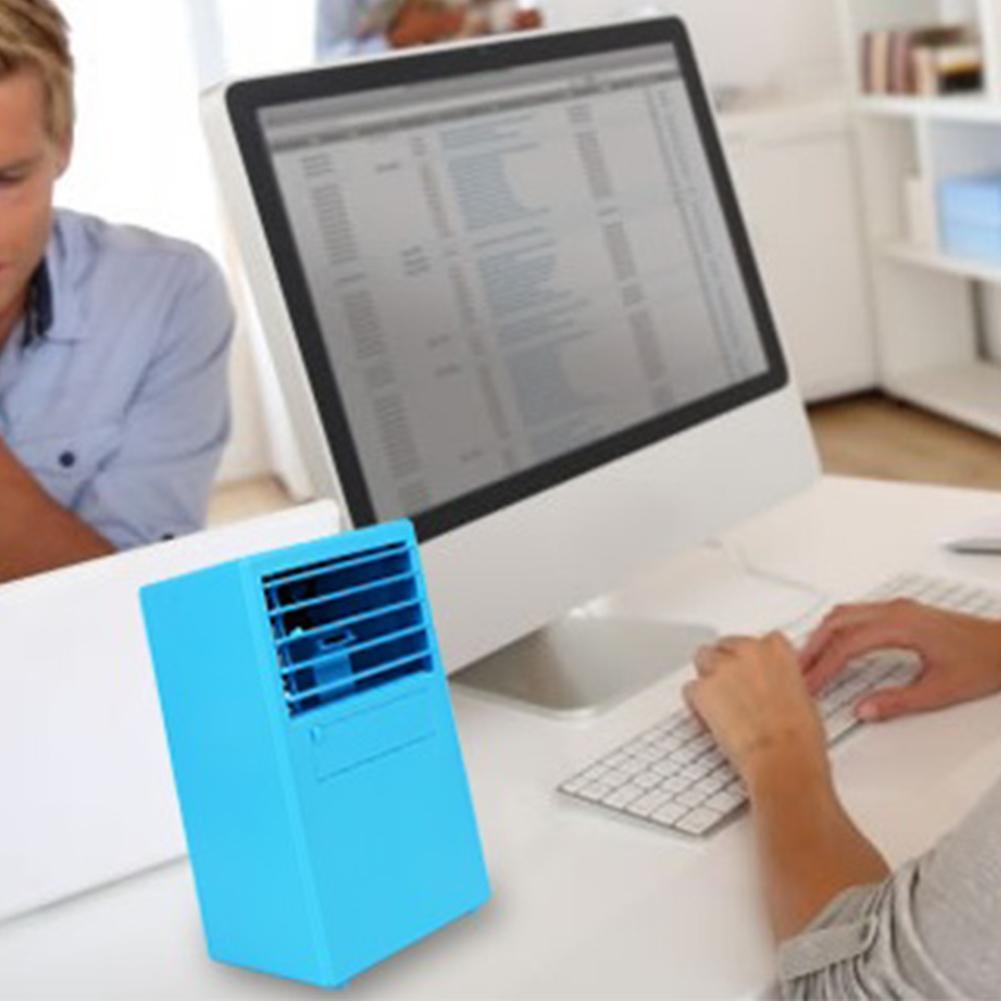 Niceeshop Laptop Pendingin Dengan Kipas Penyedot Debu Nc 32 Spider Meja Udara Penyejuk Mini Humidifier Otomatis Power Off Fungsi