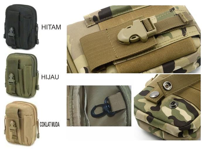 Tas Pinggang Tactical Army Versi 2 A410 PROMO TERLARIS!!!