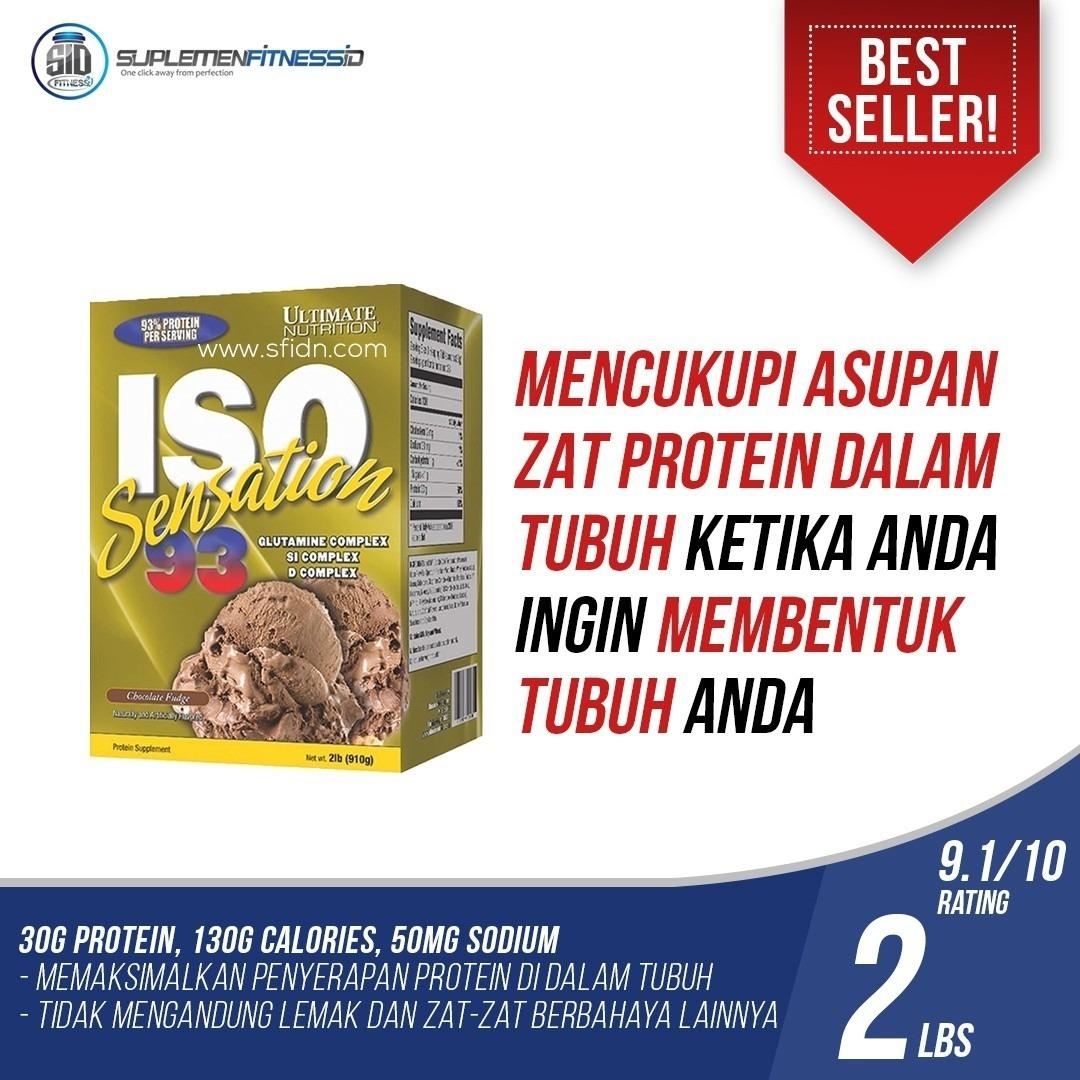 Harga Ultimate Nutrition Iso Sensation 93 2 Lbs Chocolate Asli Ultimate Nutrition