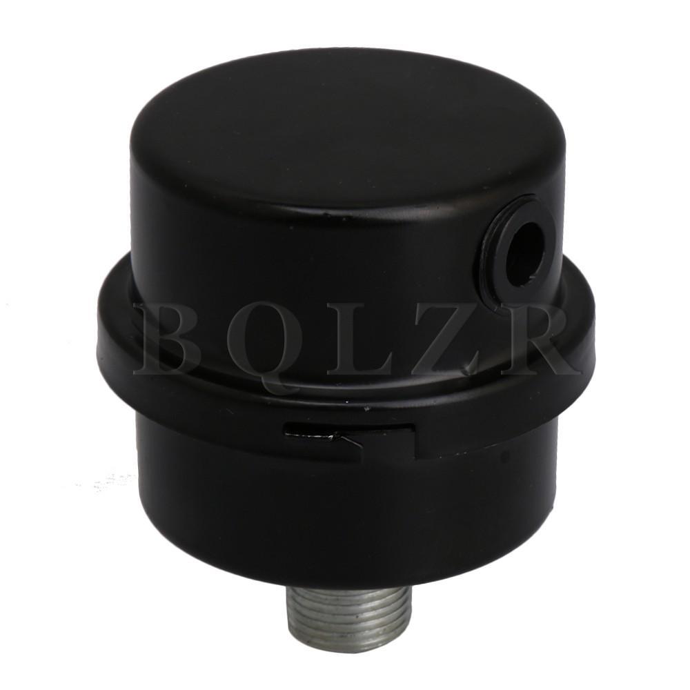 Jual 3 8Pt 1 6 Cm Kompresor Udara Intake Filter Muffler Black Termurah