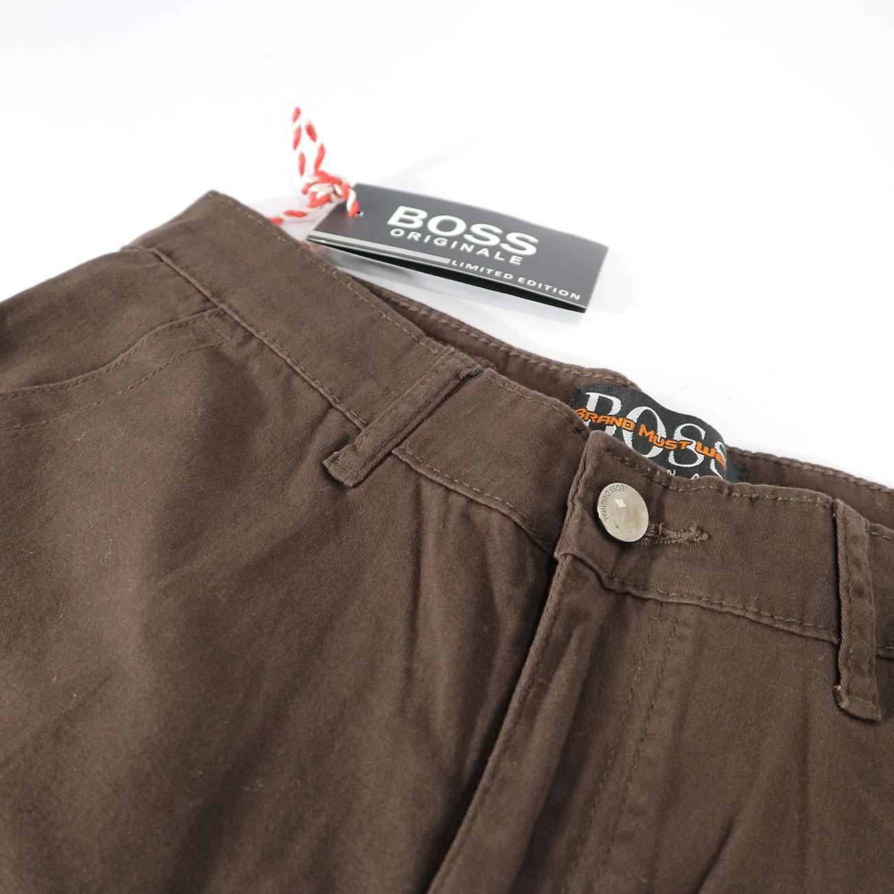 Celana Chinos Boss Original Regular Size 28-39 - Kingkong Jeans