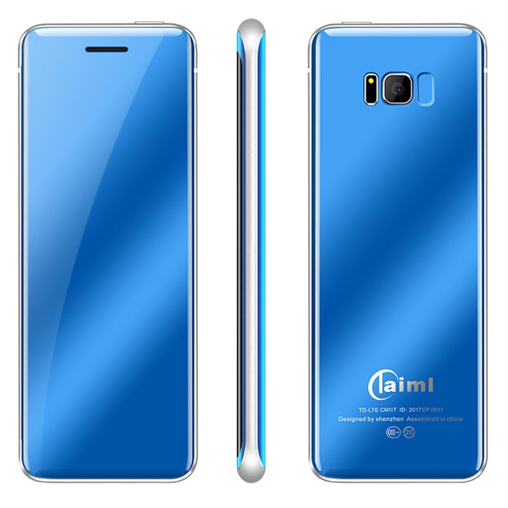 Color Screen MIni Ultra-Thin Bar Phone Pocket Phone Card Phone Photograph Touch