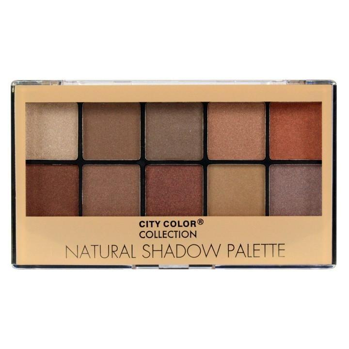 Ulasan City Color Natural Eyeshadow Palette