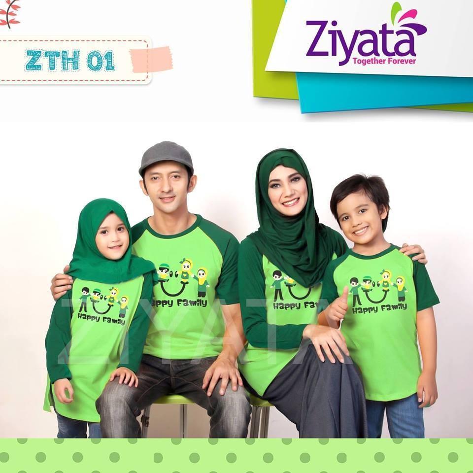 Kelebihan Kaos Ziyata Zts1 Baju Couple Muslim Keluarga 098 Zth1 Anak